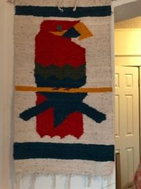 Textile wall hanging.