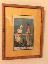 Vintage print.