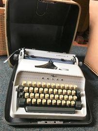 Vintage Adler typewriter.