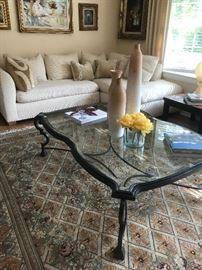 Kreiss sectional & coffee table