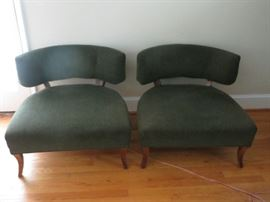 Comfortable 'modern' sturdy chairs