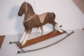 Lot 2 Antique Rocking Horse  TO BE AUCTIONED [ONLINE ONLY]