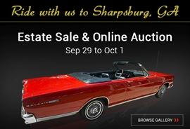 Sharpsburg Estate Sale & Online Auction