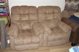 Two Lazy boy recliners, excellent condition