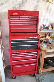 three tool chests