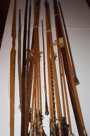 Vintage South American Lot of BOWS, ARROWS SPEARS etc.
