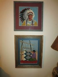 Native American Needlepoint Subjects