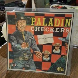 Have Gun Will Travel Checker Board