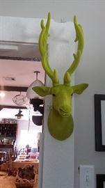 RUDOLPH THE GREEN HEAD REINDEER