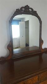$250  Antique dresser with mirror