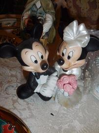 Mickey Minnie Wedding Cake Top