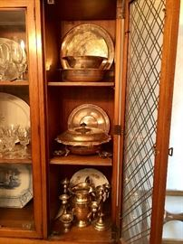 China, Silver, Silverplate & Crystal!