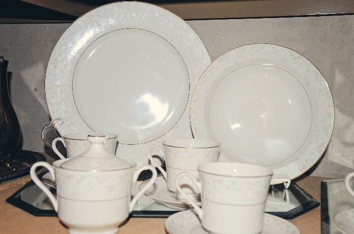 "Mikasa ""My Love"" China Set for 8"