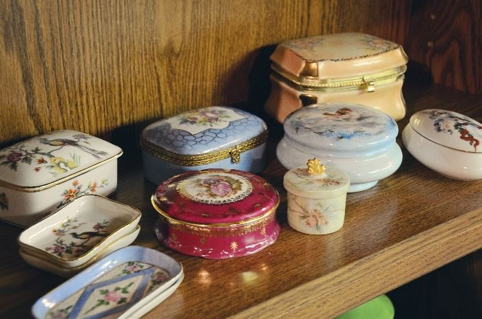 Victorian Trinket Boxes