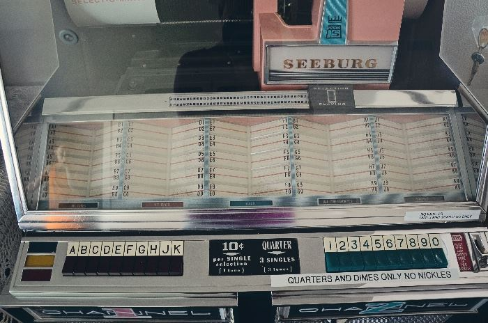 1959 Seeburg Model 220 Select-O-Matic Jukebox