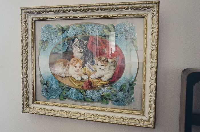"""Up to Mischief"" Victorian Framed Print"