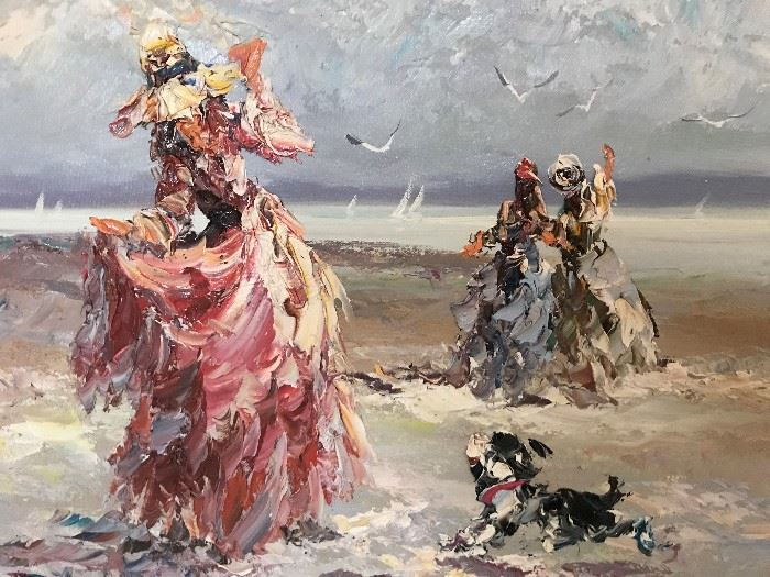 Original Oil Painting by Marie Charlot