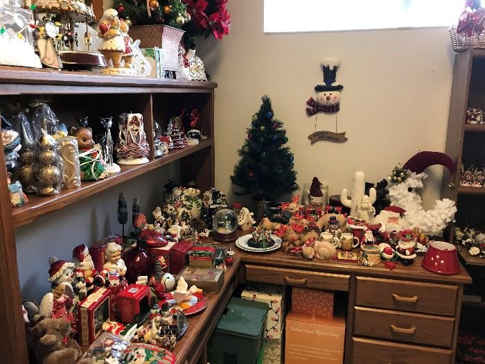 Lots of Christmas including Charming Tails and Hallmark Ornaments