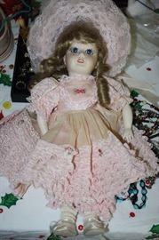 "Mon Cheri Doll Marked ""Paris McNEES 1004"""