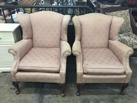 Vintage queen anne chairs