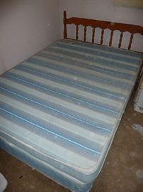 HEADBOARD, MATTRESS SET
