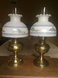 Aladdin and B&H lamps