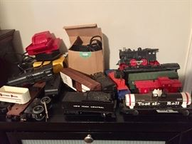 Lionel trains and tracks
