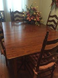 Solid wood Mahogany table
