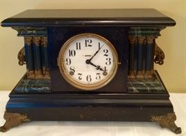 There's nothing better than a great antique mantle clock!