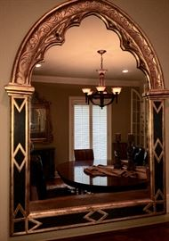 LOOK at THIS!!!  One of the most unusual mirrors we have ever seen in a sale!!!!