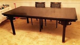 Baker Dining Room table with Baker Furniture label