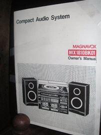Magnavox audio system