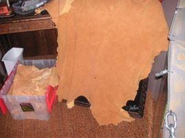 Deer Buck Skins Ten full size ...good condition