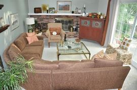 Wonderful Family Room great for gatherings.
