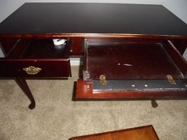 Queen Anne style computer table