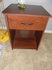 1 of 2 matching night stands