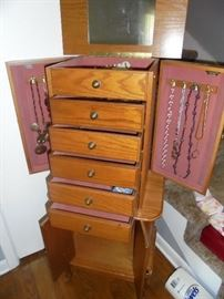 Wood Jewelry chest