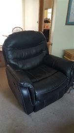 Black recliner   $350