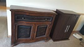 """Antique """"look"""" small buffet  $125"""