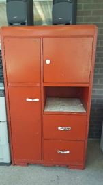 Red cupboard - $45