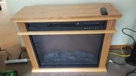 Electric fireplace  $125