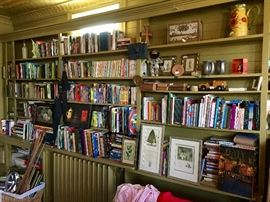 Eclectic Collection of Books, Knick-Knacks, Toys, Games, Art & So Much More