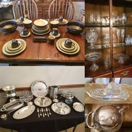 dishes serving pieces orrefors and crystal