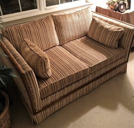 Abraham & Strauss Love Seat and Couch Set