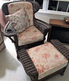 Resin Wicker Chair Set