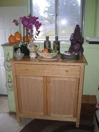 Cabinet and accent pieces