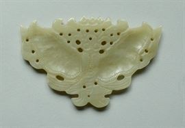 Chinese jade butterfly ornament
