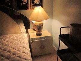 Cream color lacquer bedroom