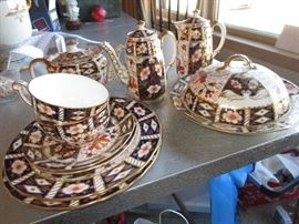 Absolutely awesome Royal Crown Derby Imari pattern, sold by Tiffany's.
