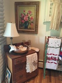 Antique small side dresser